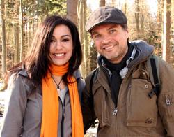 Nina Massahi und Christopher Weidner